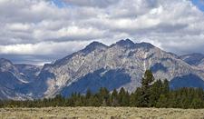 Eagles Rest Peak At Grand Tetons - Wyoming - USA