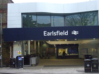 Earlsfield estación de tren
