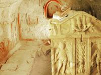 A principios mausoleo cristiano