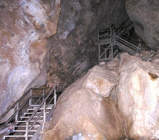 Early Stairs Inside Carlsbad Cavern