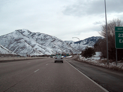 Eastbound I-80 At 2300 East