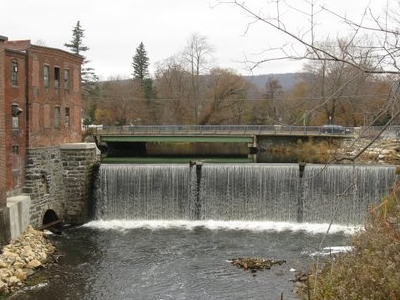 East Branch Of The  Housatonic  River At  Main  St And  Depot  S