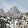 East Face Close-up Of Mount Whitney