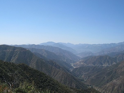 East Fork San Gabriel River Canyon