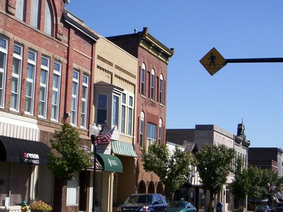 East Main Street In Downtown Ashland In 2007.