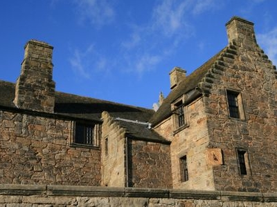 East  Range Of  Aberdour  Castle