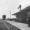 Eatonia Railway Station Pre 1 9 4 0