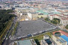 Ebertstrasse With Reichstag