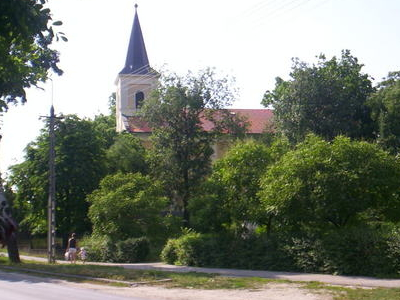 Ecseri Park With Church