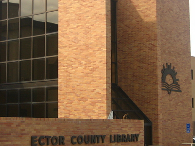 Ector County Library In Downtown Odessa