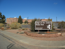 Edge Of The Cedars State Park Marker