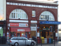 Edgware Road Tube Station