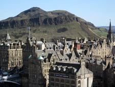 Edinburgh, Showing Arthur's Seat