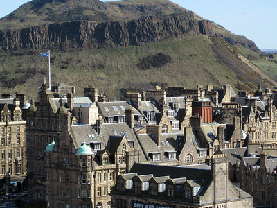 Edinburgh, Showing Arthur's Seat