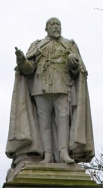 Edward VII Statue In Highgate Park