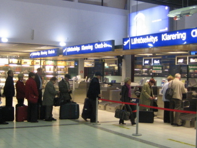 Departure Hall In Terminal 1