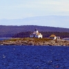 Egg Rock Lighthouse In Frenchman's Bay ME