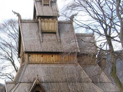 Eglise Bois Debout Norvege
