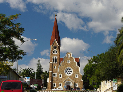 Eglise Lutherienne - Windhoek Namibia