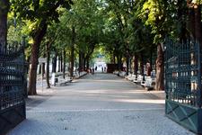 Kurpark Entrance, Baden