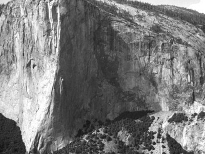 El Capitan From Lower Cathedral Spire
