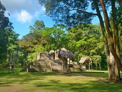 El Ceibal Pyramids