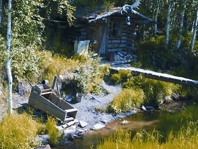 El Dorado Gold Mine Historic Cabin