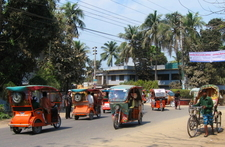 Electric Trikes Overwhelm Comilla Streets
