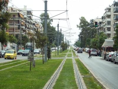 Main Street Of Nea Smyrni
