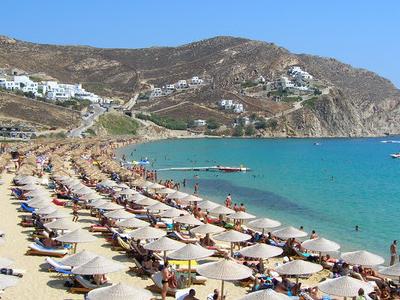 Elias  Beach On  Mykonos