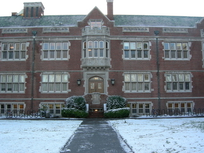 Reed College's Eliot Hall
