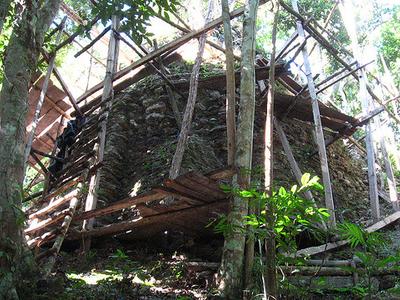 El Mirador Temple - Peten - Guatemala