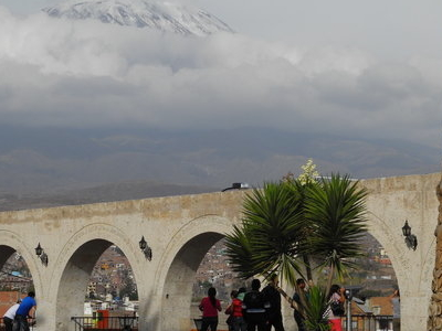El Misti View From Arequipa