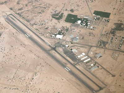 Eloy  Municipal  Airport  Aerial  View