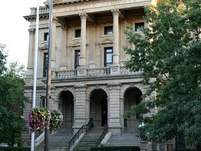 Elyria  Ohio  Old  County  Building