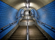 Embankment Tube Station - London UK