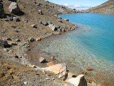 Emerald Lake At Tongariro Crossing