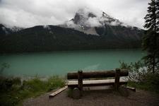 Emerald Lake - Bench On Banks