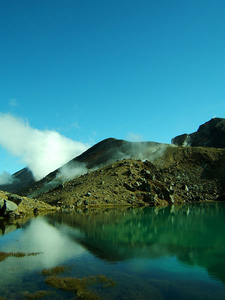 Emerald Lake Reflections - Tongariro