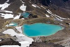 Emerald Lake Views Along The Track - Tongariro