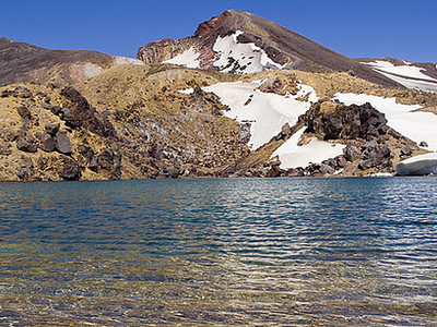 Emerald Lakes To Oturere Hut Track - Tongariro National Park - New Zealand