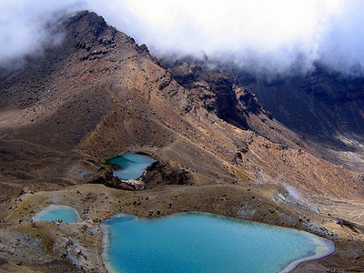 Emerald Lakes Track - Tongariro