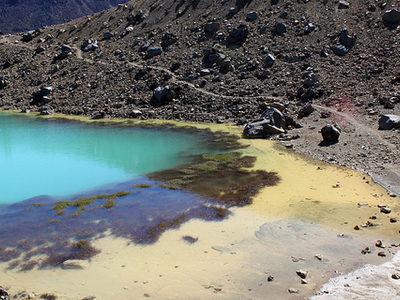 Emerald Lakes Trail Views - Tongariro