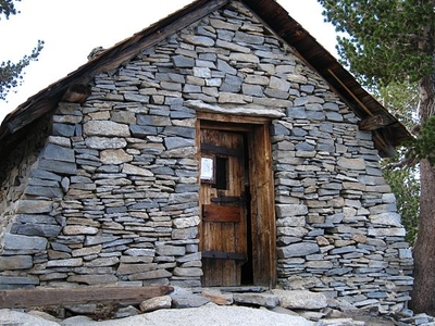 Emergency Hut Near The Summit