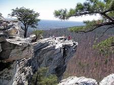 Enjoying View From Hanging Rock SP NC