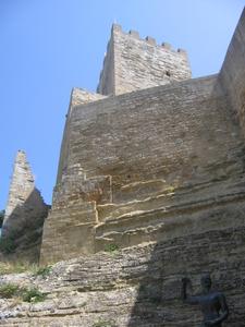 Enna Castello Di Lombardia