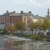 River Fergus Going Through Ennis