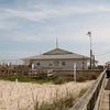 Entering Kure Beach Pier NC