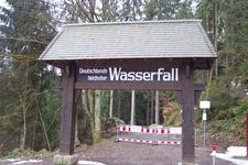 Entrance To Triberg Waterfall
