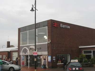 Main Entrance To The Station